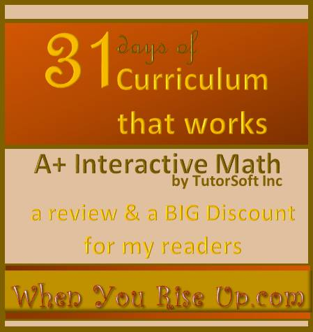 AplusTutorSoft Math Review and Discount