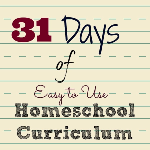 Easy Homeschool Curriculum