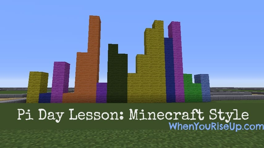 Pi Day Minecraft