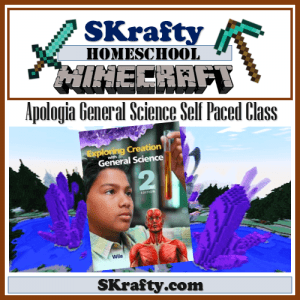 Apologia Science Meets Minecraft: General Science Self Paced Class