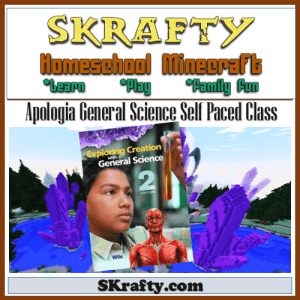 Apologia General Science plus Minecraft