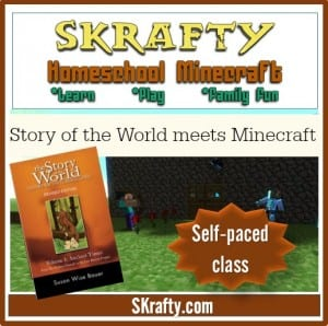 Story of the World Meets Minecraft - Self Paced