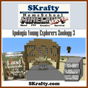 Apologia Science Meets Minecraft: Zoology 3