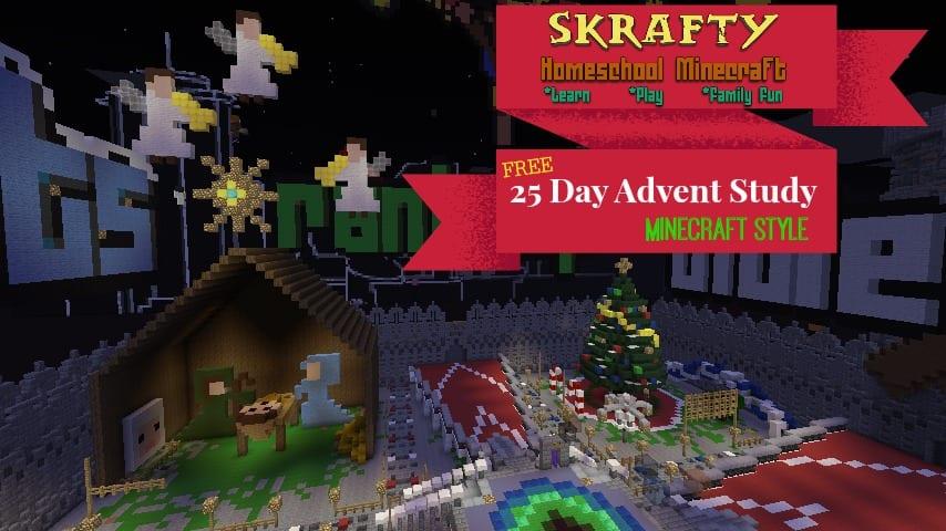Minecraft Advent Activities