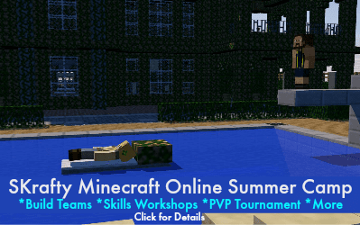Homeschool Minecraft Summer Camp