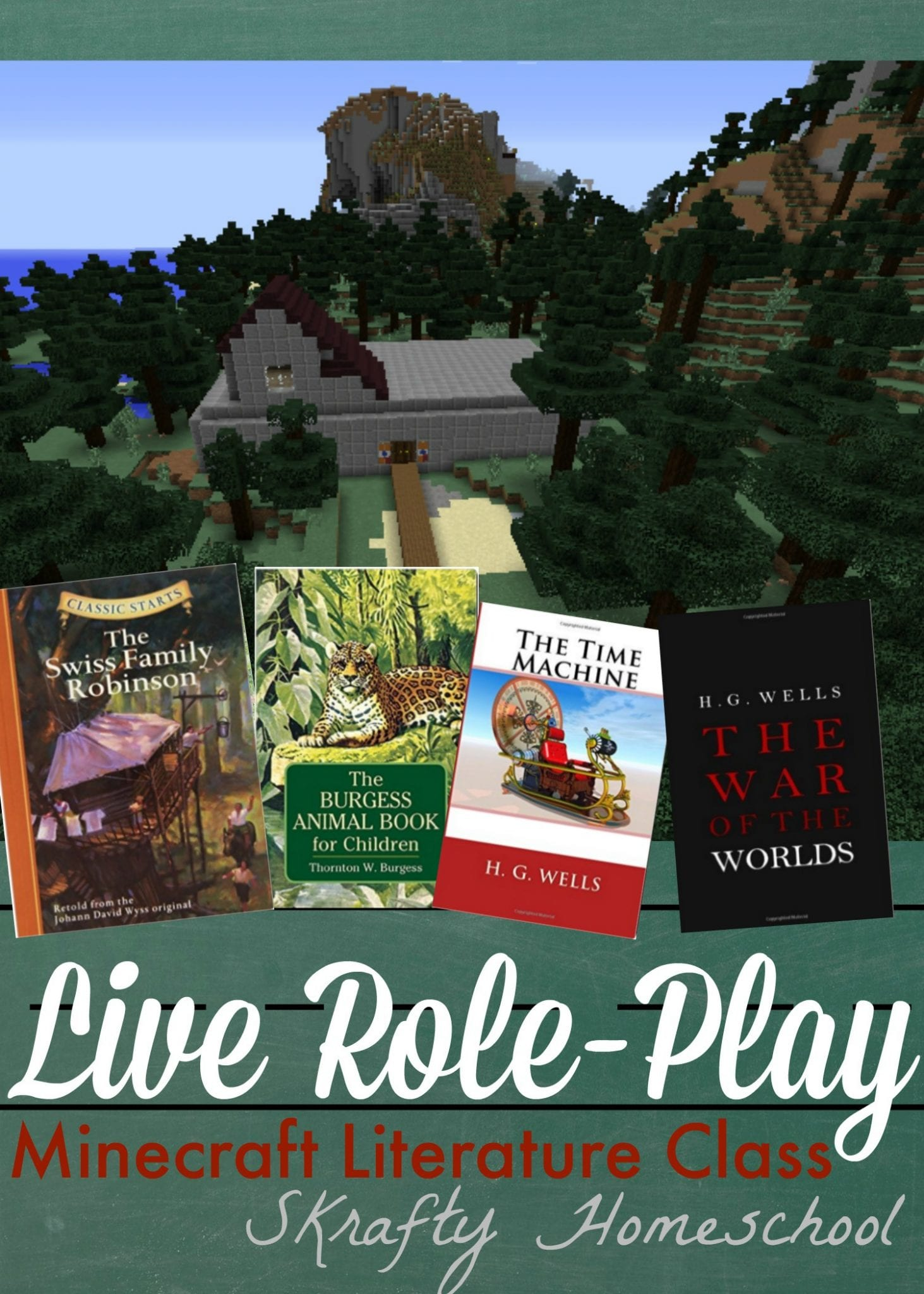 Minecraft Role Play Literature Classes