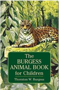 Literature Role Play Class K-2: Burgess Animal Book