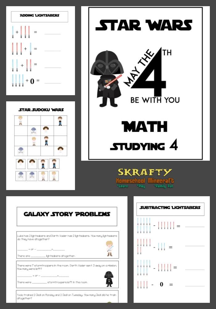 Star Wars Math Printables