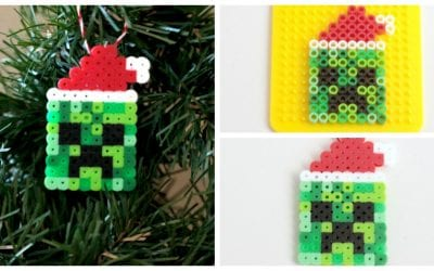 Minecraft-Inspired Creeper Ornaments
