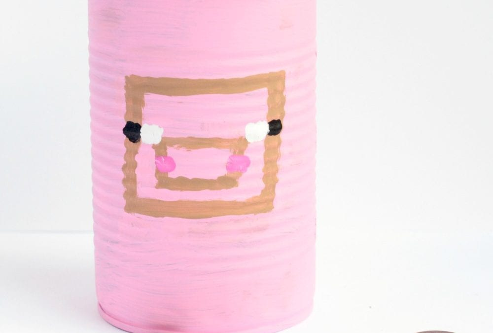 Minecraft Piggy Bank