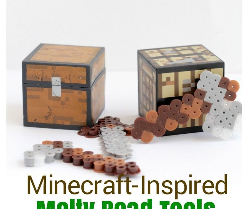 Minecraft-Inspired Melty Bead Tools