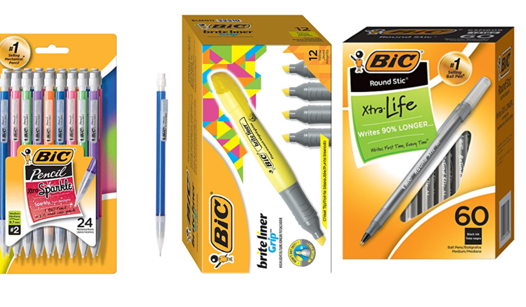 Huge Sale on Bic Writing Products at Amazon