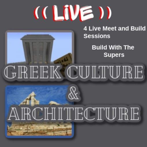 Greek Architecture in Minecraft
