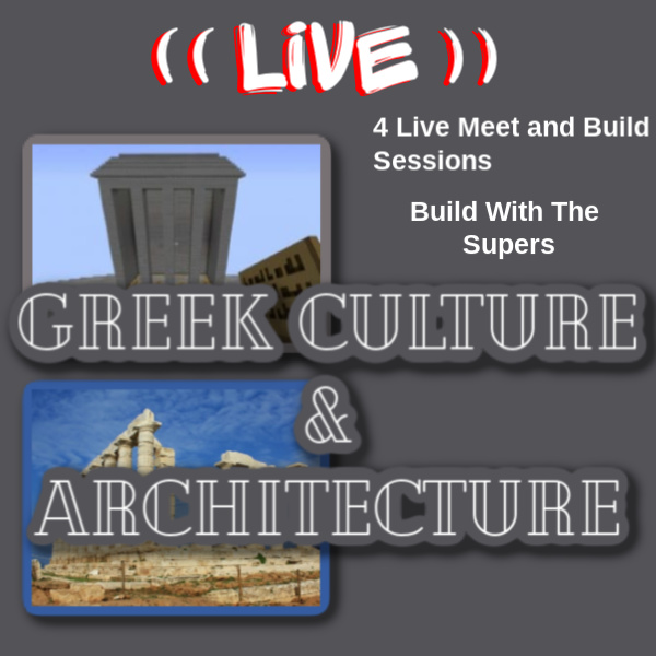 Greek Architecture in Minecraft