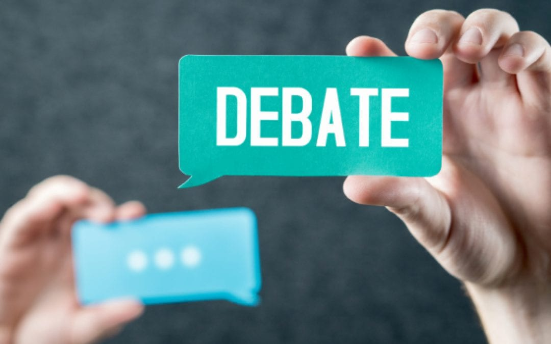 Argumentation and Debate from a Christian World View – Trimester 3 – Speaking, Debating, and Delivery
