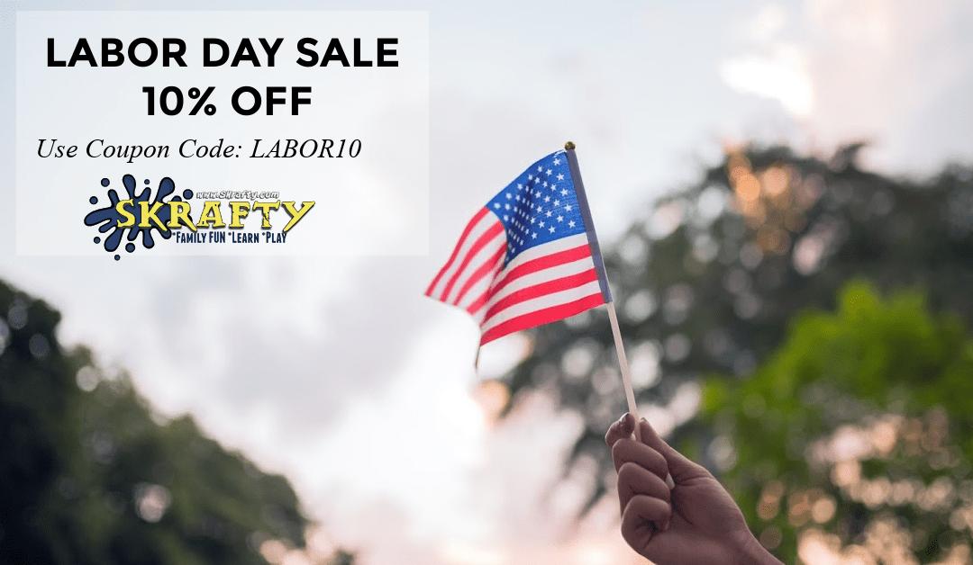 Labor Day Sale on SKrafty
